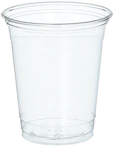 (SOLO Cup Company Ultra Clear Cups, Squat, 12-14 oz, PET, 50/Pack)
