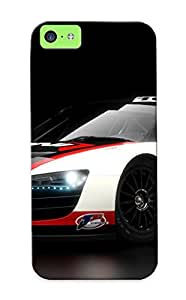 New Snap-on Bloomeraw Skin Case Cover Compatible With Iphone 5c- Audi R8 Lms Images Pictures Pics And Photos.