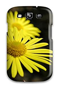Lennie P. Dallas's Shop 3027901K84021425 Faddish Phone Yellow Flowers Case For Galaxy S3 / Perfect Case Cover