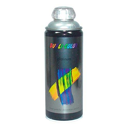 Duplicolor 719844 Platinum Spray, Color Blanco Aluminio Mate, 400 ml Motip-Dupli GmbH B007TWNZOA