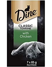 DINE Chicken Terrine Cat Wet Food 7 x 85g