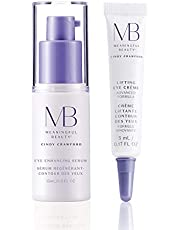 Meaningful Beauty Supercharged Anti-Aging Under Eye and Dark Circle Kit with Serum & Crème, 0.75 fl. oz.