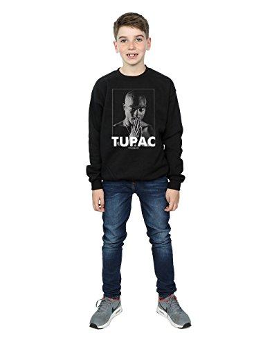 Boy Shakur Black Praying Sweatshirt 2pac Tupac q7OwOU