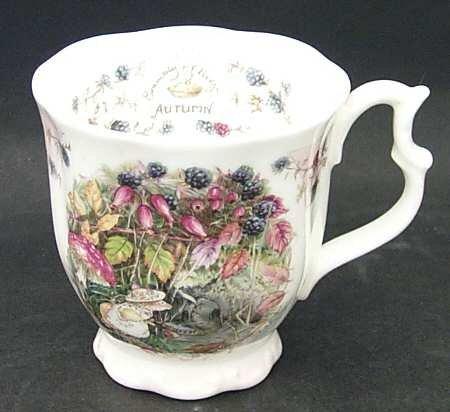 Royal Doulton Brambly Hedge Autumn Beaker Mug 3 1/2
