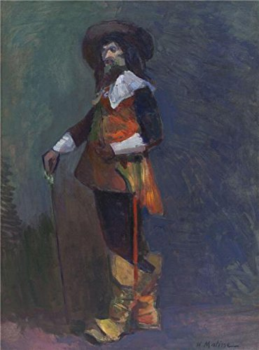Three Musketeers Costume Ideas (high quality polyster Canvas ,the High Definition Art Decorative Canvas Prints of oil painting 'The Musketeer 1903 By Henri Matisse', 20x27 inch / 51x69 cm is best for Study gallery art and Home artwork and Gifts)