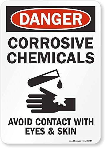 Corrosive Sign - SmartSign