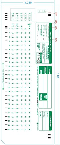TEST-889E 889 E Compatible Testing Forms (500 Sheet Pack)