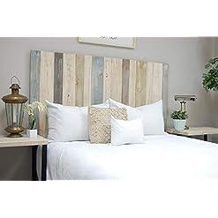 Bedroom Farmhouse Mix Headboard Twin Size, Hanger Style, Handcrafted. Mounts on Wall. Easy Installation farmhouse headboards