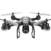 Owill S30W 2.4GHz GPS FPV RC Drone Quadcopter with 720P HD Camera Wifi Headless Mode, Wifi FPV transmission distance: About 50m (Black)