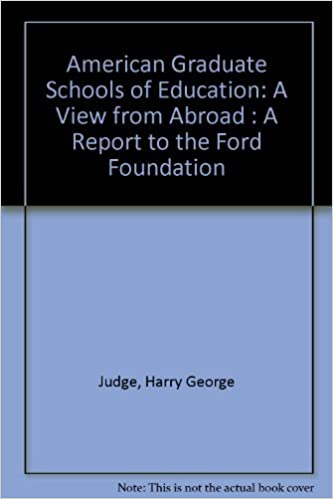 Buy American Graduate Schools of Education: A View from