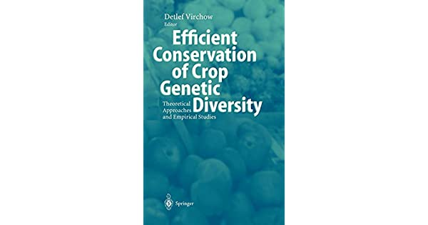 Efficient Conservation Of Crop Genetic Diversity: Theoretical Approaches And Empirical Studies