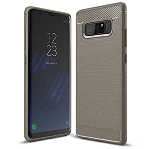 Samsung Galaxy Note 8 case, Anti-Scratch Resistant Soft TPU Case Cover for Samsung Galaxy Note 8, Grey