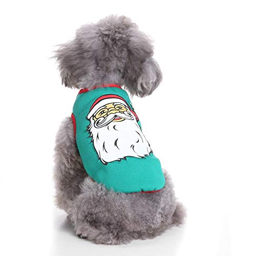 Cowmole Co. Pet Dog Clothes for Small Dogs Winter Christmas Halloween Clothes Dresses Warm Cat Coat Pumpkin Wizard Transform Funny Costume]()
