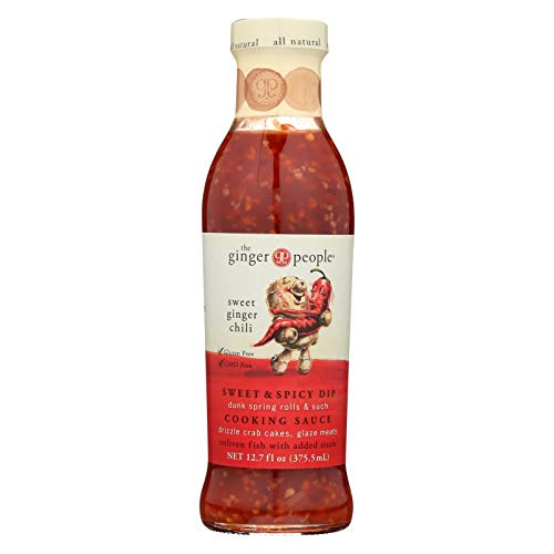 (The Ginger People Sweet Ginger Sauce - Chili - Case of 12 - 12.7 Fl oz.)