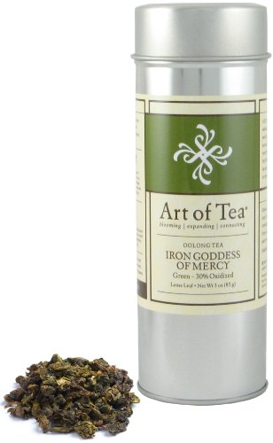 Iron Goddess of Mercy Oolong Tea - 2.5oz Tin