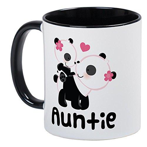CafePress Aunt Panda Bear Mug Unique Coffee Mug, Coffee Cup