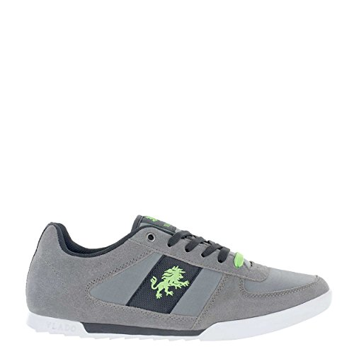 Vlado Footwear Mens Core Suede & Nylon Low Top Low Top Sneaker Grey kLZ61Bs