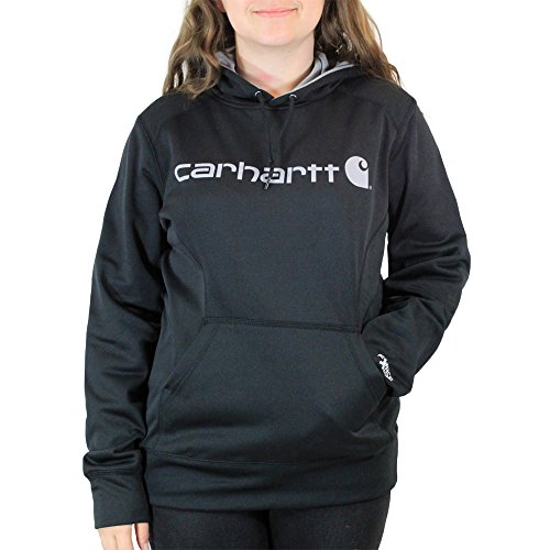 Carhartt Women's Force Extremes Signature Graphic Hooded Sweatshirt, Black, 2X-Large ()