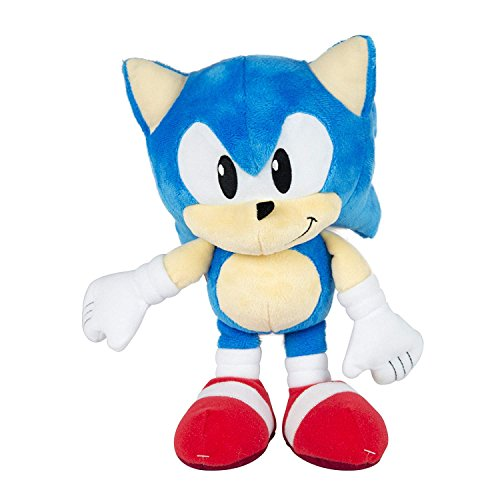 28cm Sonic Peluche Sonic qualità Super Soft Sonic The Hedgehog Peluche Sonic Medidas Sonic Tomy Collector Series Small Classic Plush