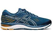ASICS Men's Gel-Cumulus 21 Running Shoes, 9.5M, MAKO Blue/White