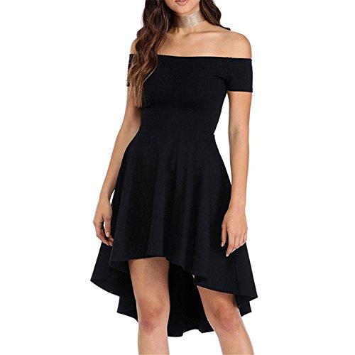 one shoulder red dress ebay - 2
