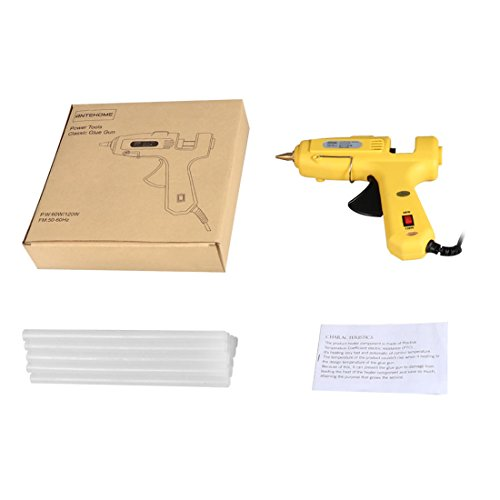 Hot Glue Gun,Antehome 60/120W Dual Power High Temperature Hot Melt Glue Gun with 15 pcs Glue Sticks,for DIY,Small Arts Craft Projects,Decoration and Gifts,Household (B) by Antehome (Image #6)