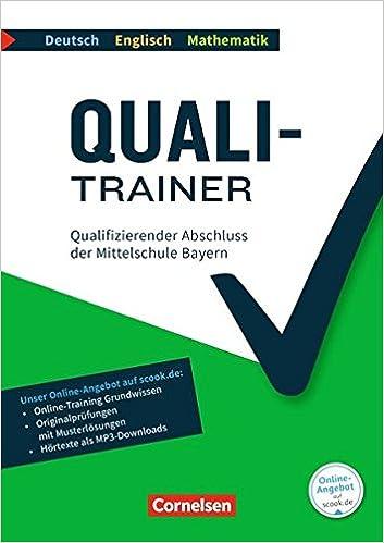 Quali Trainer Deutschenglischmathematik Bayern 9