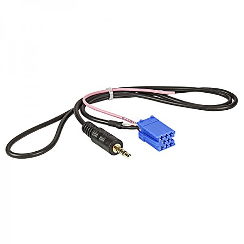 Baseline to30510 AUX-in Adaptateur vers Jack, Mini ISO pour Becker 3,5 mm, 1 m Multicolore