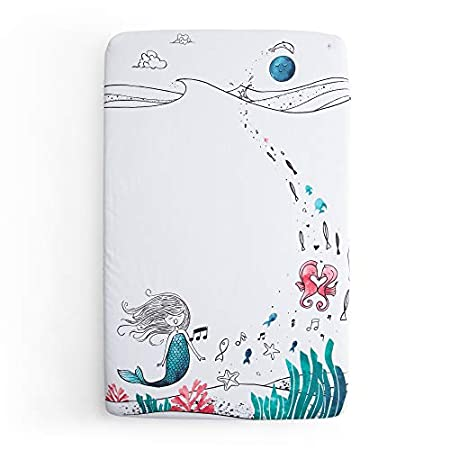 41iCHHkwazL._SS450_ Mermaid Crib Bedding and Mermaid Nursery Bedding Sets