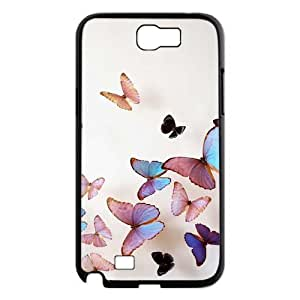 Beautiful butterfly DIY Case for Samsung Galaxy Note 2 N7100, Custom Beautiful butterfly Case