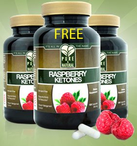 Raspberry Ketones(Buy 2 get 1 FREE) Pure & Natural-As Featured in media, Rasberry Ketone 250mg per pill!! 120cps per bottle. BEST VALUE on Amazon