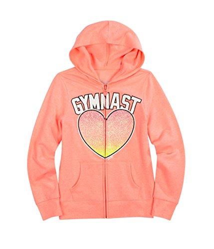 Justice Girls Glitter Sport Hoodie Sweatshirt 654 20 - Big Kids (8-20) Justice Sweatshirt