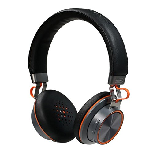 Tiean REMAX RB-195HB Stereo Multi-points Wireless Bluetooth 4.1 Headset Headphone WH by Tiean
