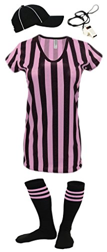 Womens Referee Shirts   Comfortable V-Neck Ref Shirt for Waitresses, Refs, More! - RS CA1002P -