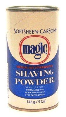 Magic Blue Shaving Powder 5 oz. Regular Depilatory