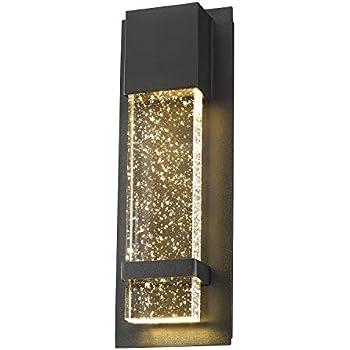 Emliviar Indoor Outdoor Led Wall Sconce Light Modern Wall