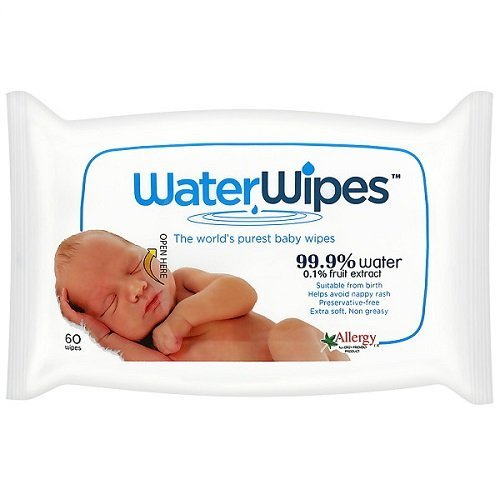 : WaterWipes Baby Wipes, 60 Wipes by WaterWipes
