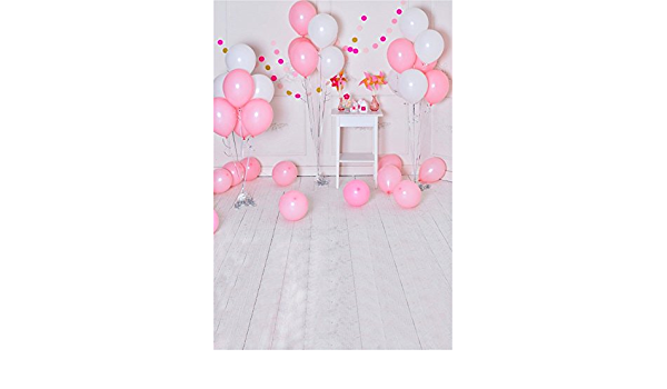 Babys 1st Birthday Photo Booth Backdrop 8x6.5ft Vinyl Indoor Corner White Yellow Balloon Bunches Simple Tent with Stars Curtain Cloud Light Small Crown Background Birthday Banner Cake Smash