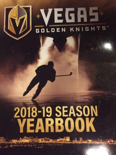 - The Hockey Company 2018-2019 Golden Knights Yearbook Stanley Cup Finals Official Yearbook