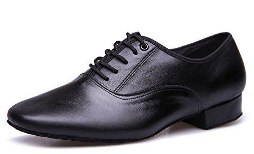 Pictures of BeiBestCoat Black Modern Outdoor Dancing Shoes Lace- 5