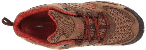 Azura Merrell de Earth Dark trekking Red zapatos impermeables vHqHwB4px
