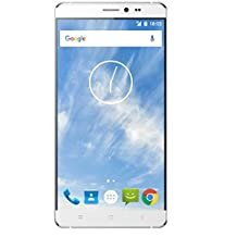 "SKY Devices ELITE 6.0L - 4G LTE GSM Unlocked Dual-SIM MediaTek MT6735 1.3GHz Cortex-A53, 64Bit Quad-Core with 13MP+5MP Cameras, 8GB ROM/ 1GB RAM, 5.1 Lollipop, 6"" HD Display & Bluetooth 4.0 - Silver"