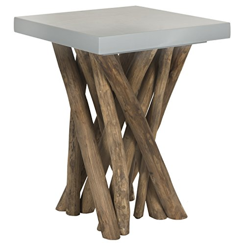 Safavieh Home Collection Hartwick Grey Side Table
