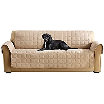Amazon.com: Sure Fit Furniture Friend Pet Throw - Sofa Slipcover ... : sure fit quilted cotton furniture friends - Adamdwight.com