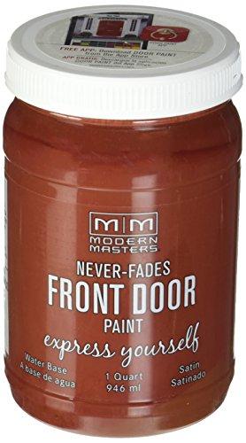 Modern Masters 275129 Satin Front Door Paint, 1 quart, ()