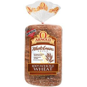amazon com arnold 100 whole wheat bread wide pan loaf 24 oz