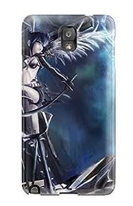High Grade AmyAMorales Flexible Case For Iphone 4/4S Cover PCBlack Rock Shooter