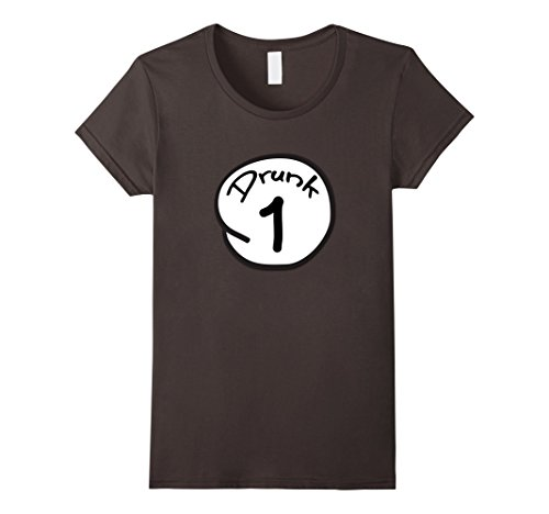 Womens Drunk Thing T-Shirt Easy Halloween Matching Couples Costume Medium (Easy Couple Costumes)