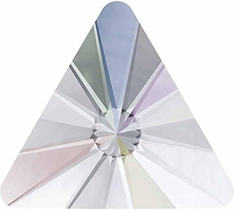 2716 Swarovski® Flatback Crystals Non Hotfix Rivoli Triangle