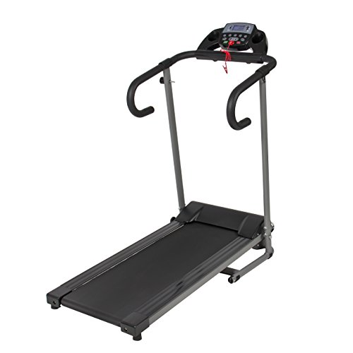 1100W-Folding-Electric-Treadmill-Portable-Motorized-Running-Machine-Black